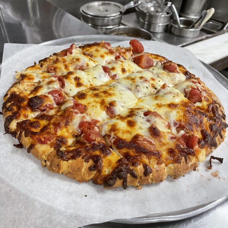 franks pizza, derangos pizza, the pizza king