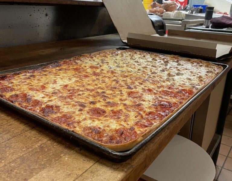 sheet pizza, pizza catering, pizza in kenosha